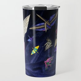 Flock of Cranes Travel Mug