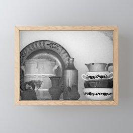 Pottery still life Framed Mini Art Print
