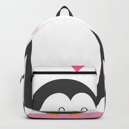 Cartoon Penguin Lover Backpack