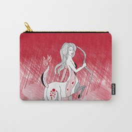 Sagittarius / 12 Signs of the Zodiac Carry-All Pouch