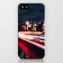 Night at Lombard Street iPhone Case