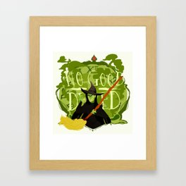 Elphaba Framed Art Print