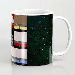 Maybe it's not the Destination that matters - square - Star Trek: Voyager VOY  trektangle minimalist Coffee Mug