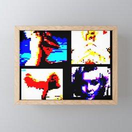 MARILYN. Saturday TV/ TELETEXT PAGE. ART. Framed Mini Art Print