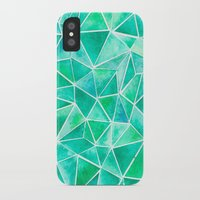 emerald iPhone & iPod Cases featuring Emerald by Jamworth
