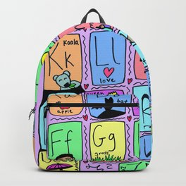 Alphabet Backpack