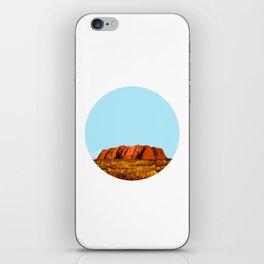 uluru polygon iPhone Skin