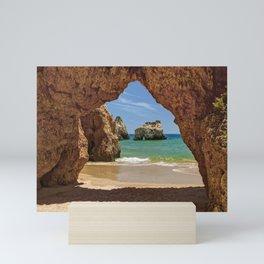 Alvor cave Mini Art Print