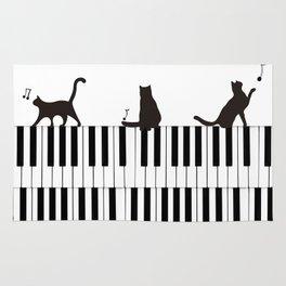 Piano Cat Rug