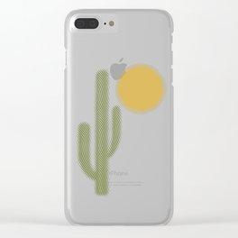 El Desierto Clear iPhone Case
