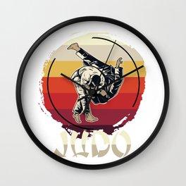 Judo Master Wall Clock