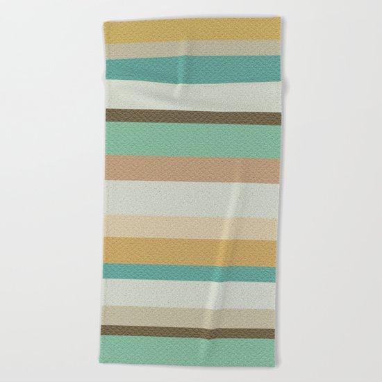 Victorian Stripes Beach Towel