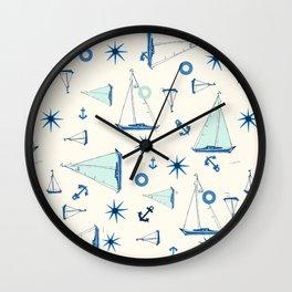 Waipio Valley Beach Wall Clock