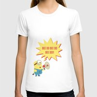 minion T-shirts featuring minion by Dripdrop