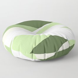 Celery Vibrations Floor Pillow