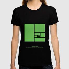 Design Principle FOUR - Proportion T-shirt