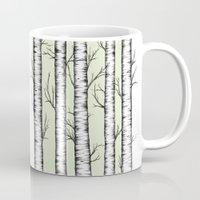 wonderland Mugs featuring Wonderland by Barlena