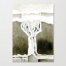 Cubed tree Canvas Print