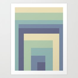 Poligonal 03 Art Print