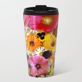flowers Travel Mug