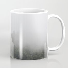 Foggy Forest Mist Landscape Photography | Woods | Nature | Travel | Rustic Coffee Mug