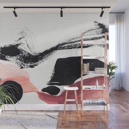 Blush Abstract Art Wall Mural