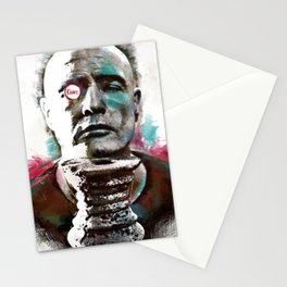 Marlon Brando under brushes effects Stationery Cards
