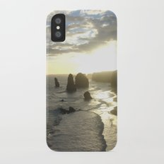 Dusk falls over the Great Southern Ocean iPhone X Slim Case