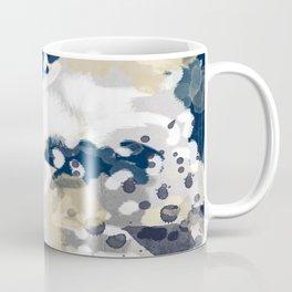 Nigel - Abstract art painting brushstrokes free spirt dorm college masculine feminine art print cali Coffee Mug