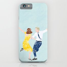 La La Land Movie Poster iPhone Case