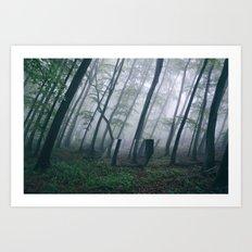 Lacanian Forest Art Print