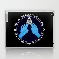 Me & Paranormal You - James Roper Design - Ouija (white lettering) Laptop & iPad Skin