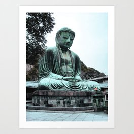 For You Buddha (Japan) Art Print