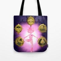 marceline Tote Bags featuring Marceline v2 by Pablo González Mora