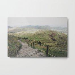A long walk Metal Print