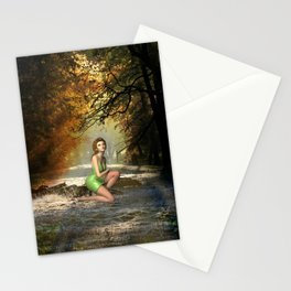 Forest Sprite Stationery Cards