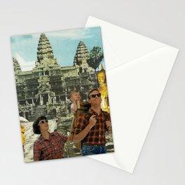 Tourists Stationery Cards