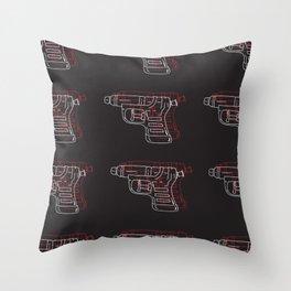 Water Guns Throw Pillow