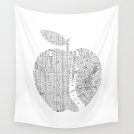 New York City big apple Poster black and white I Heart I Love NYC home decor bedroom wall art Wall Tapestry