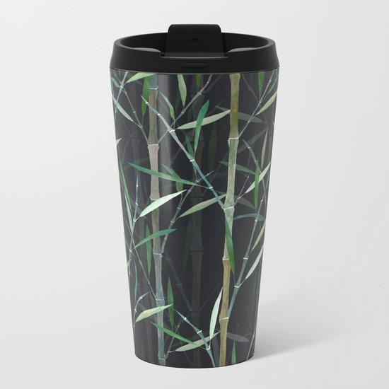 Bamboo Forest Metal Travel Mug
