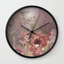 I Love Pink! Wall Clock