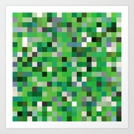 Pixel Painting Art Print