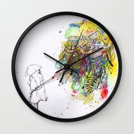 Foreign Girl Wall Clock