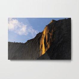 Yosemite Firefall 2016 Landscape Metal Print