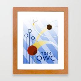 Quidditch World Cup 2014 Framed Art Print