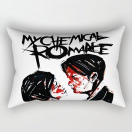 my chemical romance three cheers white 2021 Rectangular Pillow
