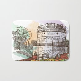 Sketches from Italy - Ravenna Bath Mat