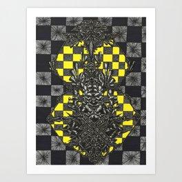 Prophet in the Pattern Art Print