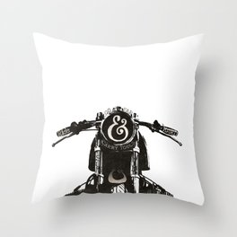 Ride Hard Throw Pillow