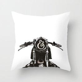 Ride Hard Throw Pillow